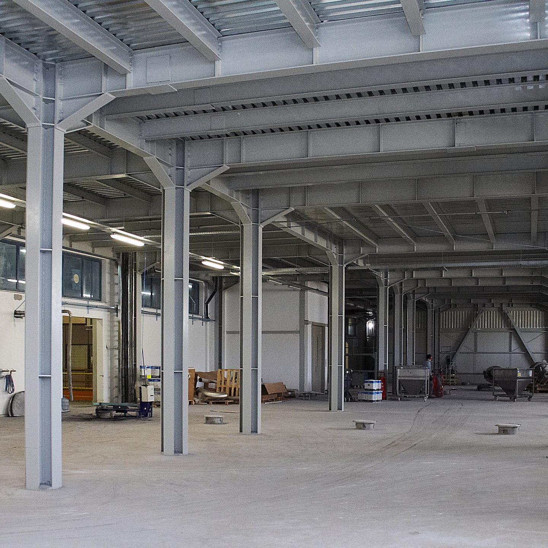 Akzo Nobel Dye Inc. / Additional Powder Production Building at Esbaş