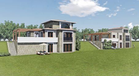 Urla Kekliktepe Villa Construction